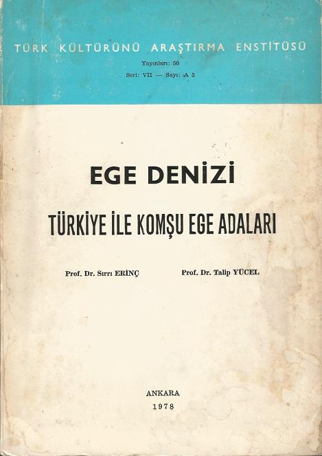 Ege Denizi - Türkiye İle Komşu Adalar